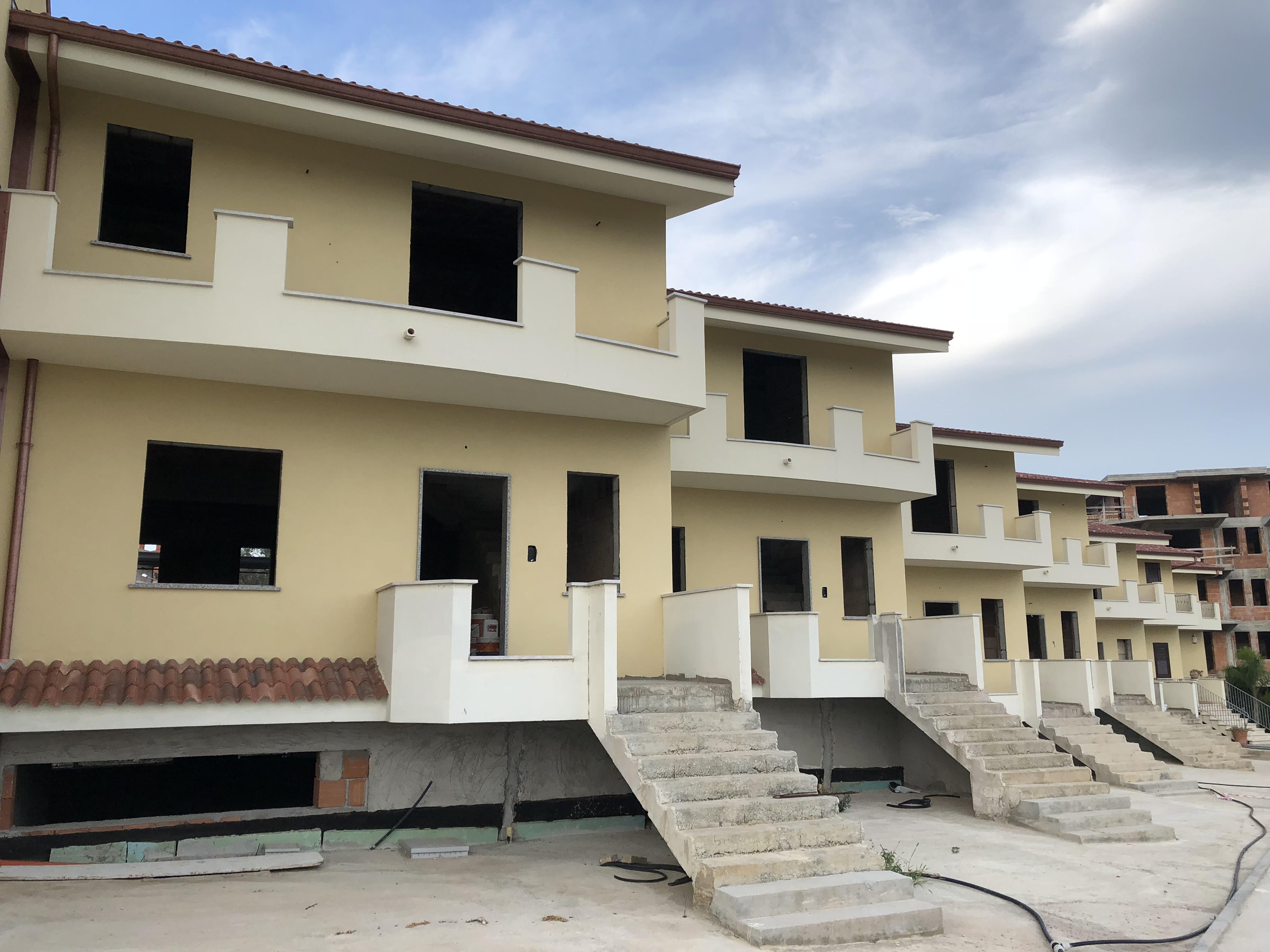 Villette a Schiera in corso di costruzione